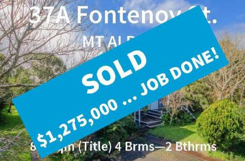 Fontenoy Sold Job Done