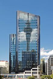Sky Tower Reflection